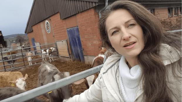 vegan woman